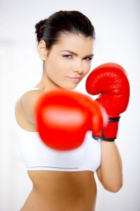 Boxercise fitness class