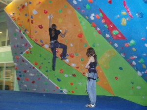 Climbing: alternate activities to aid recovery