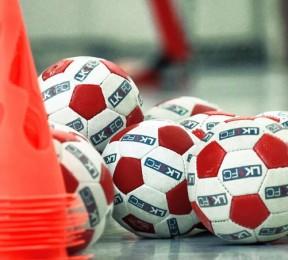 Under 8's indoor football coaching