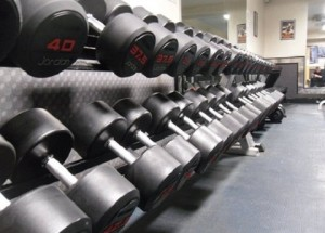 Free Weights dumbells