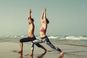 Broga Yoga fitness class