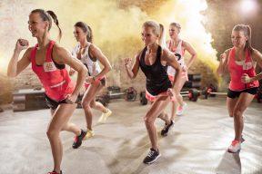Smash Hit fitness class