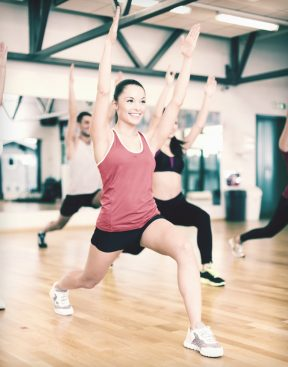 Thighs Tums & Bums fitness class